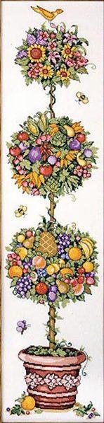 Набор для вышивки крестом дерево