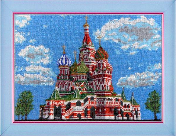 Вышивка бисером храмов