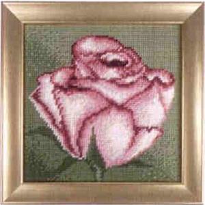 Комплект для вышивания (гобелен) Rico Design Нежная роза 22280.54.80