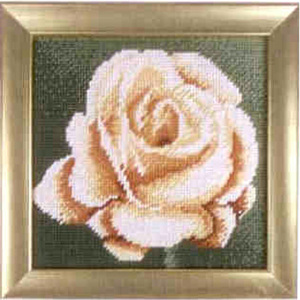 Комплект для вышивания (гобелен) Rico Design Розовая роза 22281.54.80