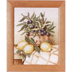Комплект для вышивания (гобелен) Rico Design Натюрморт с оливами 22238.54.93