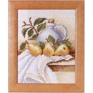 Комплект для вышивания (гобелен) Rico Design Натюрморт с грушами 22237.54.93