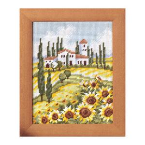 Комплект для вышивания (гобелен) Rico Design Тоскана 22241.54.93