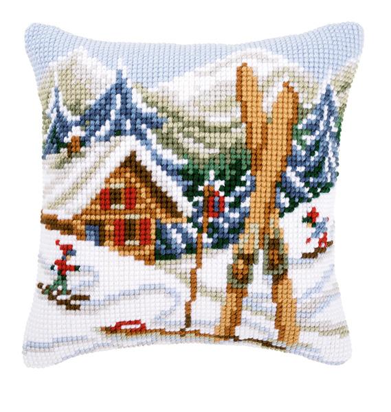 Вышивка крестом подушки: вервако и бесплатные схемы