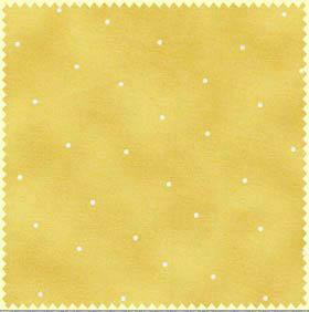 Ткань для пэчворка. Горошек на желто-бежевом