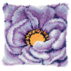 Вышивка ковровая техника подушки