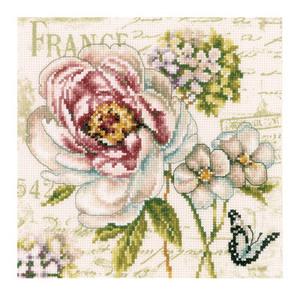 1. Набор для вышивания крестиком Vervaco Вервако Цветочный рынок-3 PN-0145131