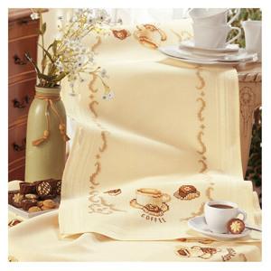 1. Набор для вышивания дорожка Vervaco 2290-92355 Кофе